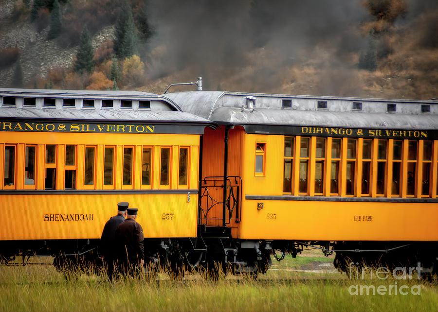 Steam Engine In Colorado Photograph