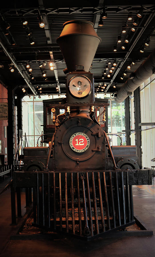 Steam Locomotive Engine #12 by Christopher James