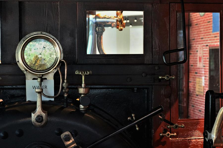 Steam Locomotive Engine Guages by Christopher James