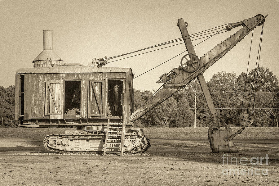 Steam Shovel  by Imagery by Charly