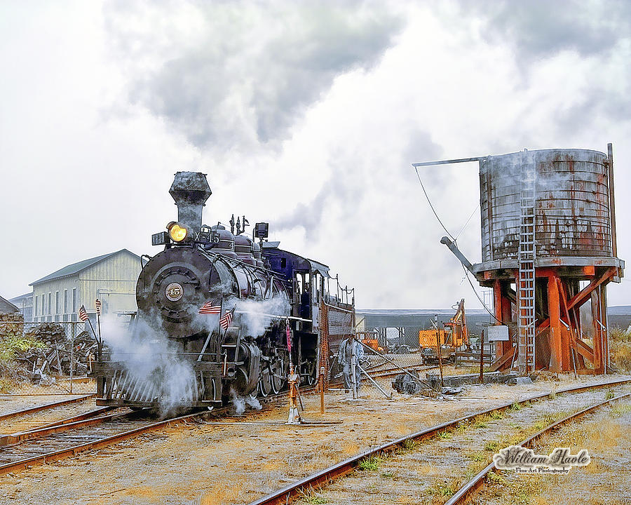 Steam Train Morning by William Havle