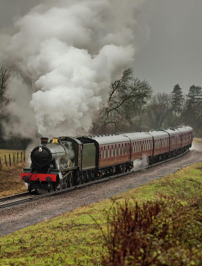 Steam Train Photograph by Paul C Stokes
