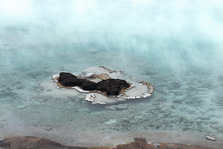 Steaming Isle In Water Photograph by Gail Shotlander