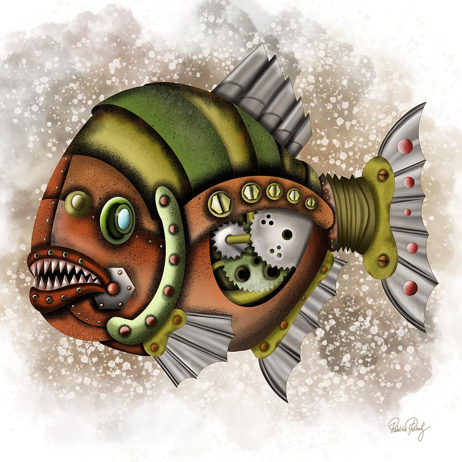 Steampunk Fish by Patricia Piotrak