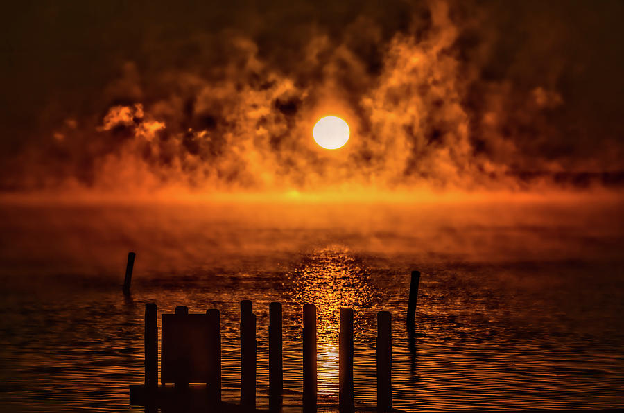 Steamy Sunrise by Joe Holley