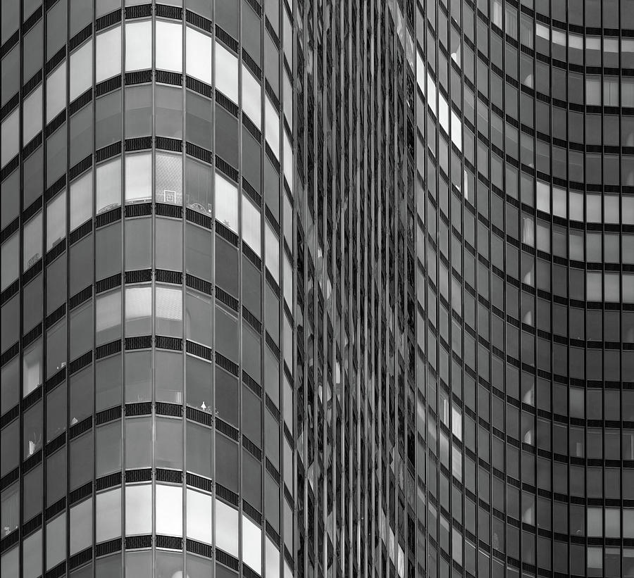 Steel And Glass Curtain Wall Photograph by Photo By John Crouch
