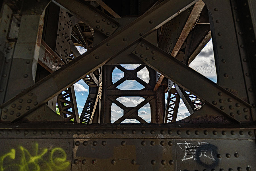 Steel and Sky by Randy Scherkenbach