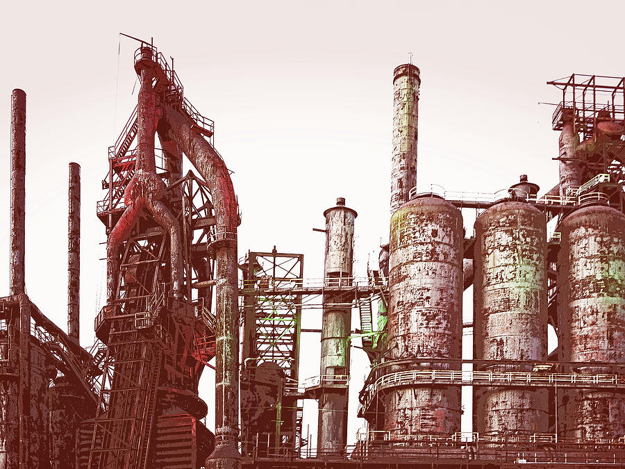 Steel Plant by Jessica Levant