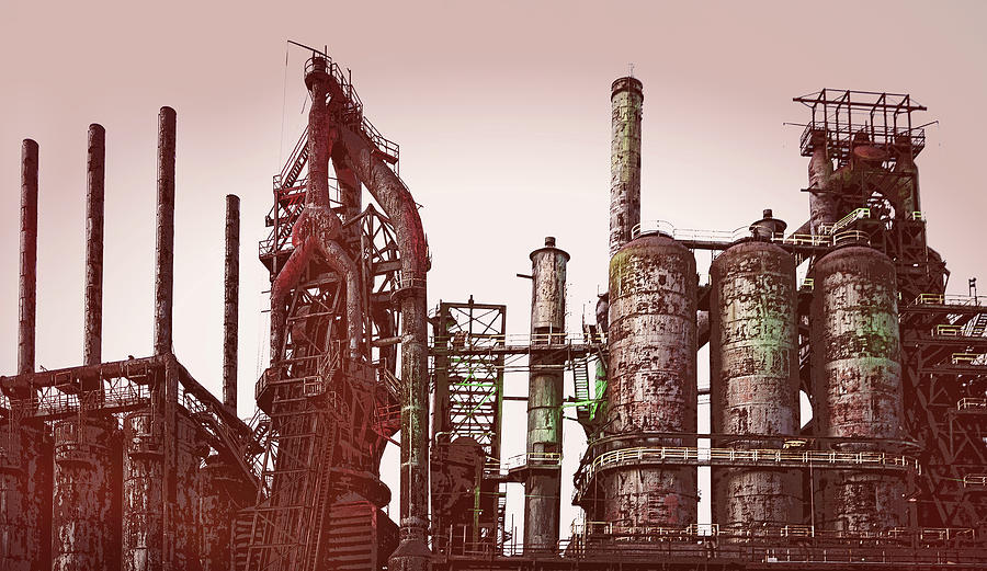 Steel Plant - wide by Jessica Levant