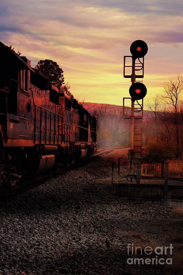 Steel Sunrise by Rick Lipscomb