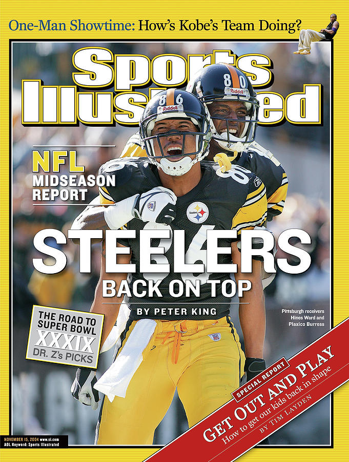 Steelers Back On Top Nfl Midseason Report Sports Illustrated Cover Photograph by Sports Illustrated