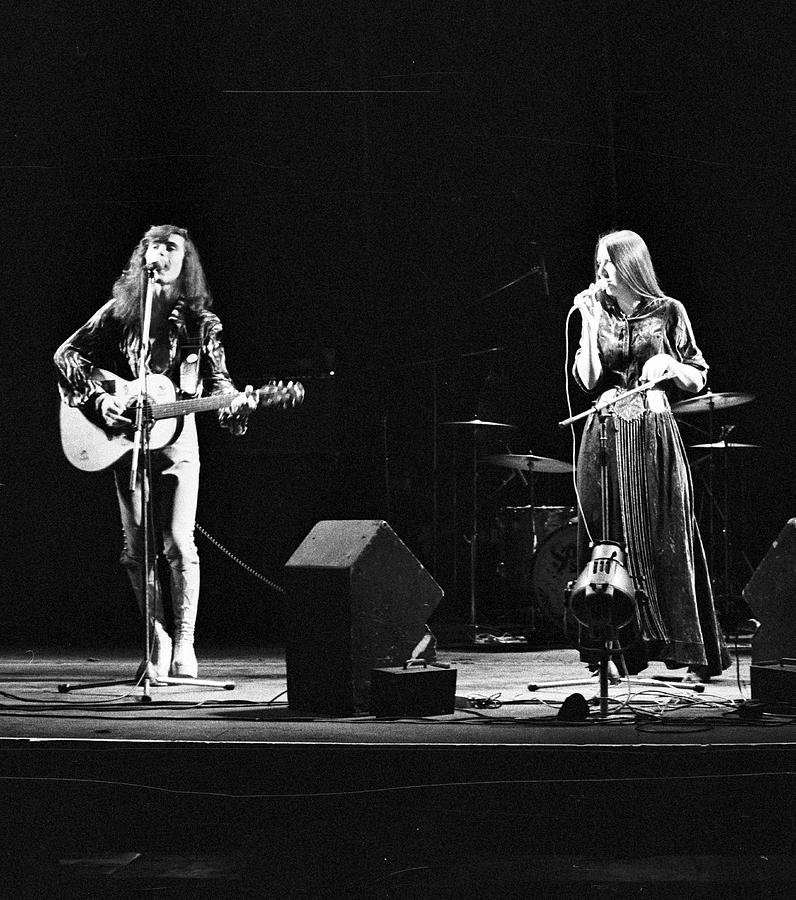 Steeleye Span Live At The Rainbow Photograph by Erica Echenberg
