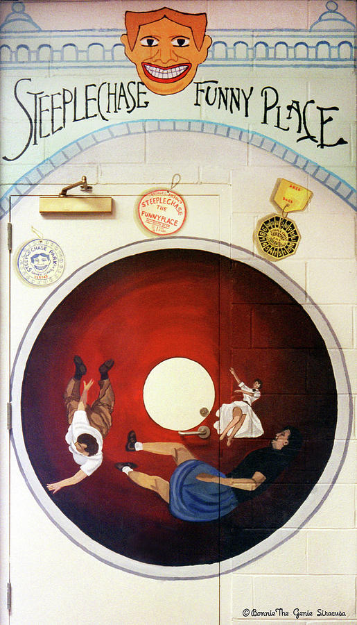 Steeple Chase Funny Place Tunnel of Love by Bonnie Siracusa