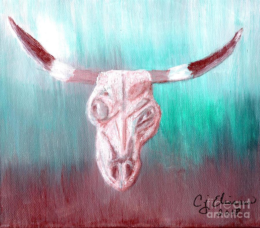 Steer Skull by Carol Eliassen