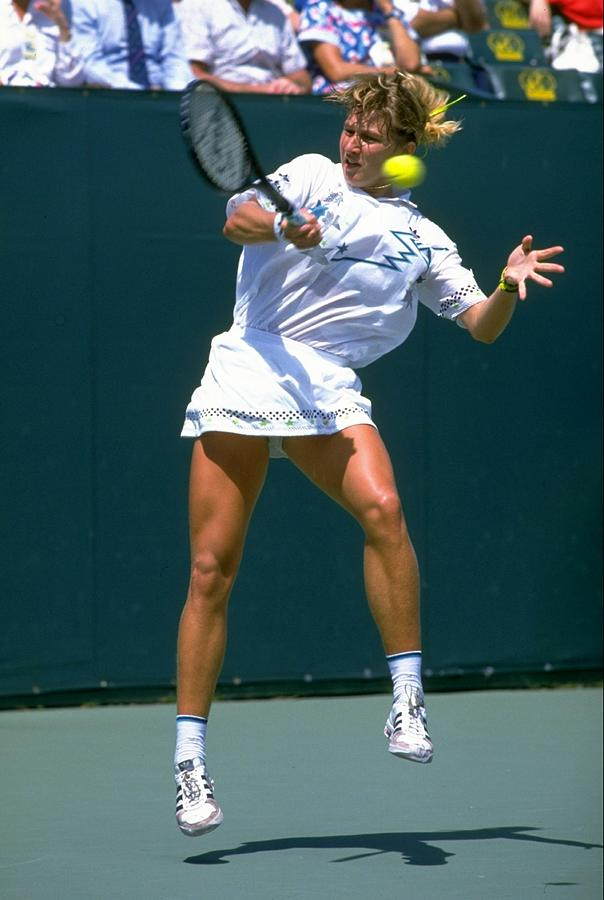 Steffi Graf Photograph by Getty Images