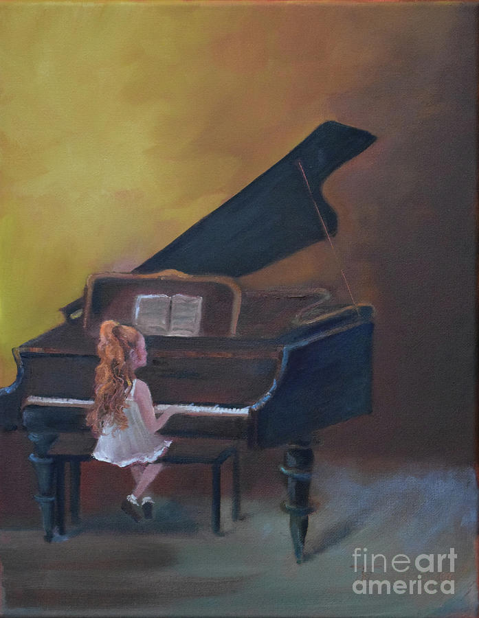 Stefi - Child Playing Piano -AMPED by Jan Dappen