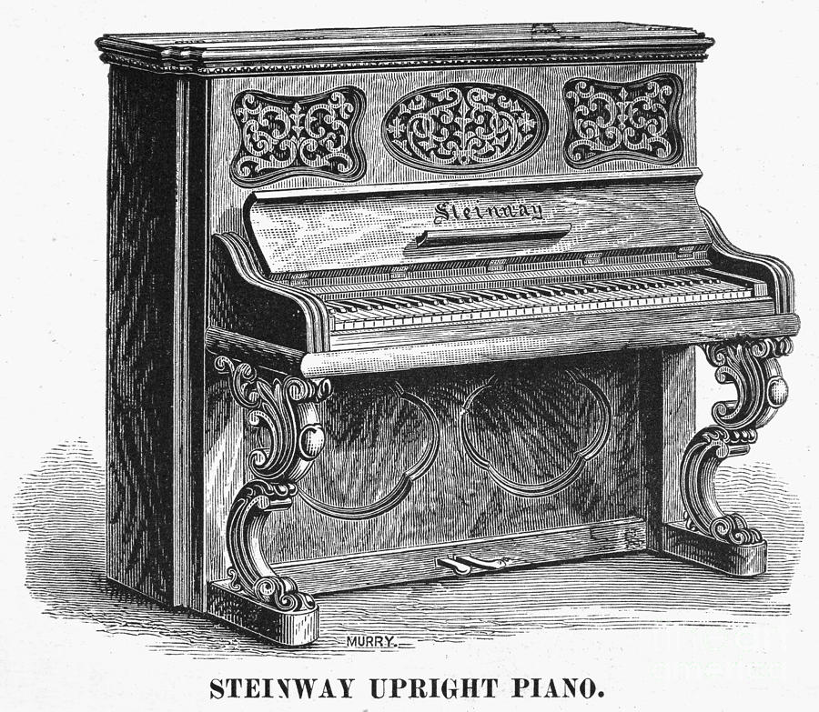 STEINWAY PIANO, 1878 by Granger