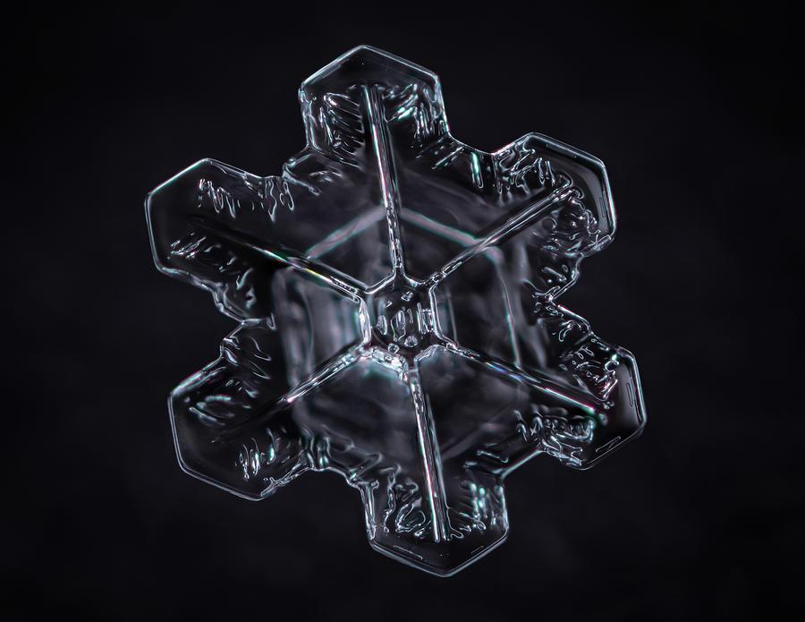 Stellar Plate Snowflake by Brian Caldwell