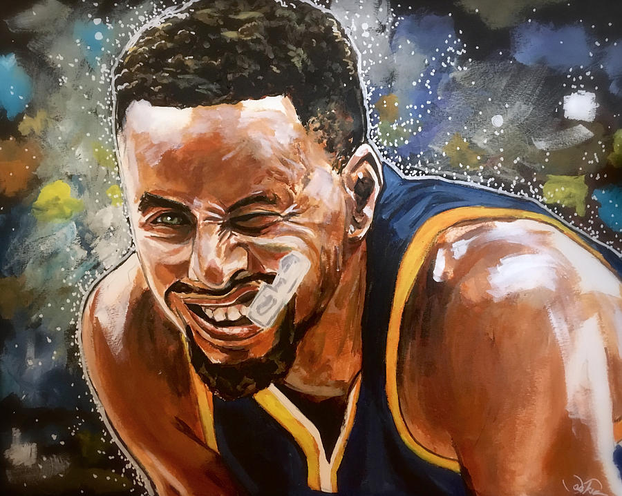 Steph Curry by Joel Tesch
