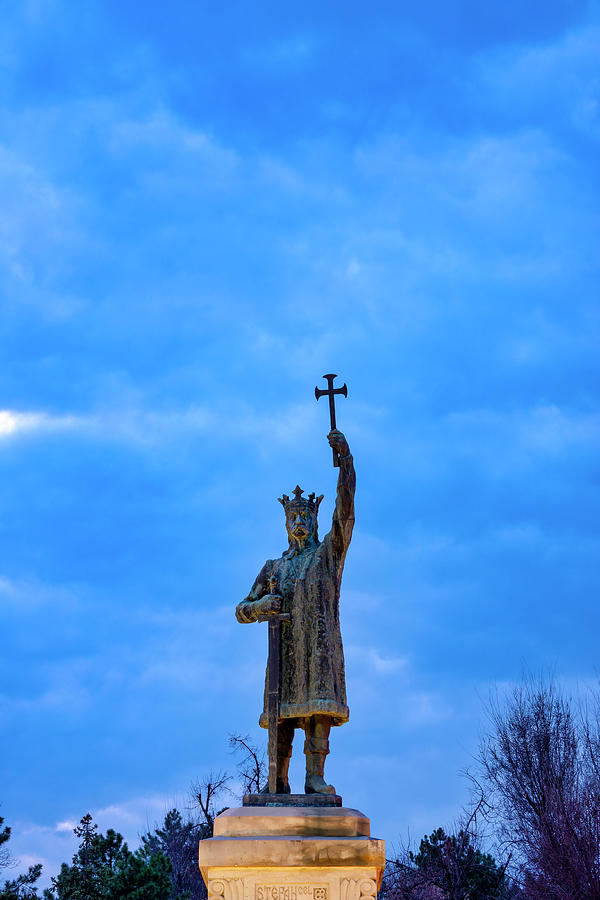 Stephen the Great Monument by Fabrizio Troiani