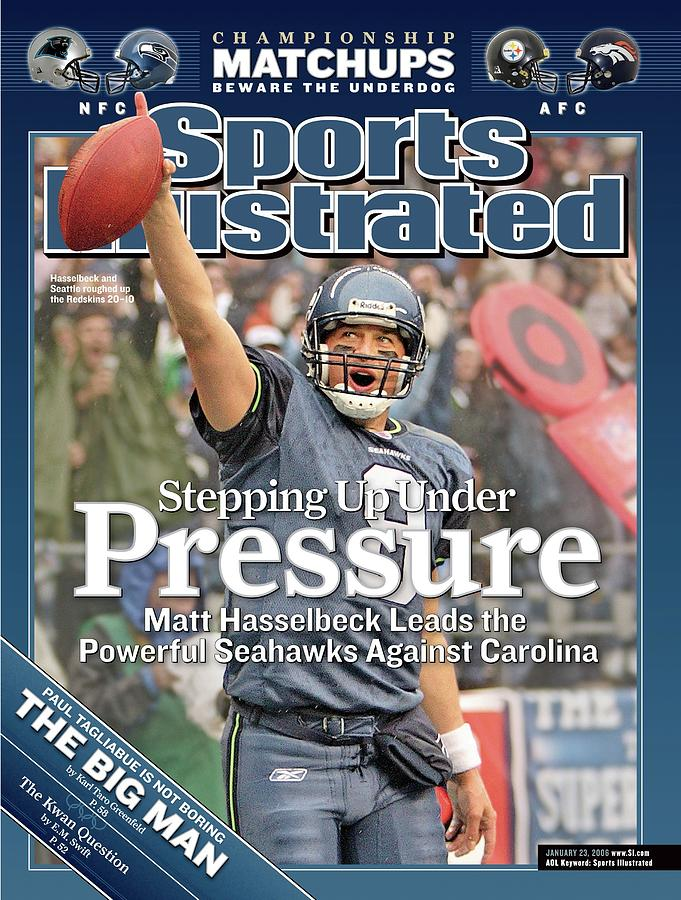 Stepping Up Under Pressure Matt Hasselbeck Leads The Sports Illustrated Cover Photograph by Sports Illustrated