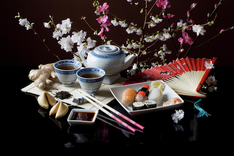Stereotypical Japanese Culture And Food Photograph by Ragnar Schmuck