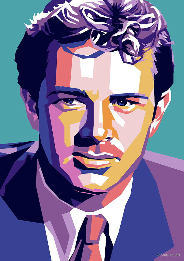 Sterling Digital Art - Sterling Hayden by Stars on Art