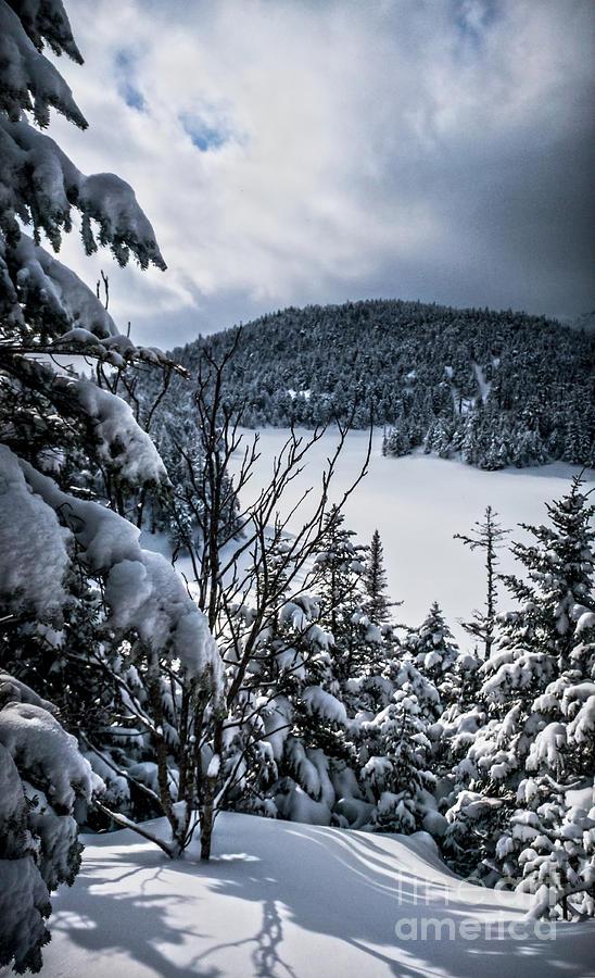Sterling Pond in Winter by James Aiken