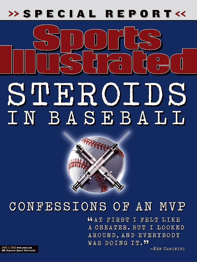 Steroids In Baseball Special Report Sports Illustrated Cover Photograph by Sports Illustrated