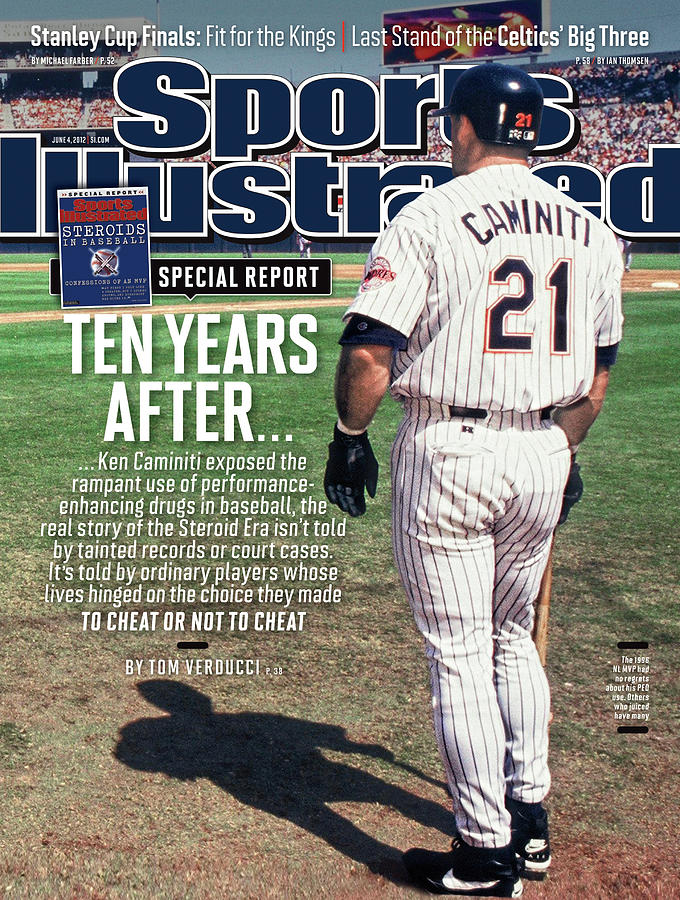 Steroids In Baseball Special Report Ten Years After Sports Illustrated Cover Photograph by Sports Illustrated