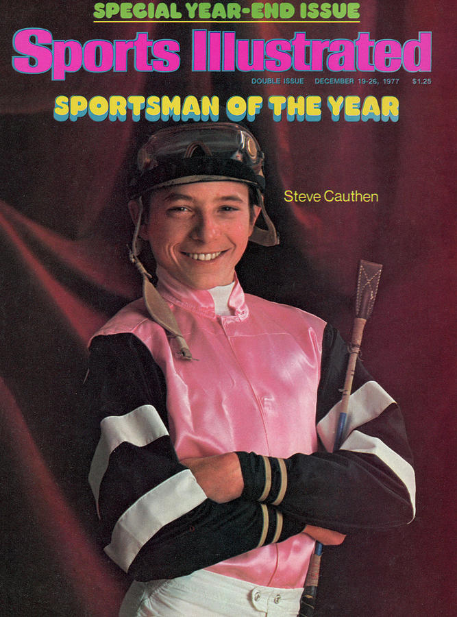Steve Cauthen, 1977 Sportsman Of The Year Sports Illustrated Cover Photograph by Sports Illustrated