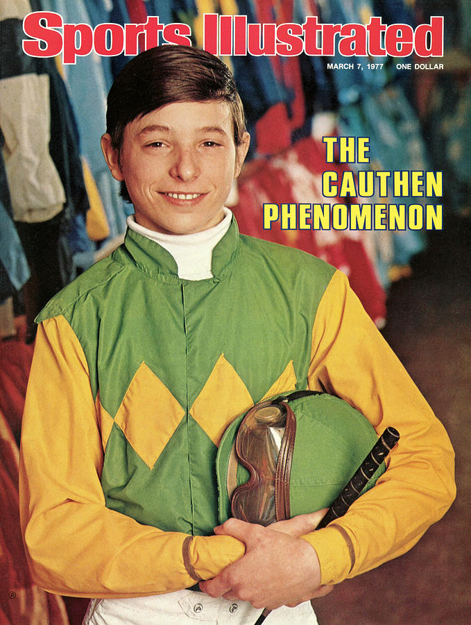 Steve Cauthen, Horse Racing Jockey Sports Illustrated Cover Photograph by Sports Illustrated