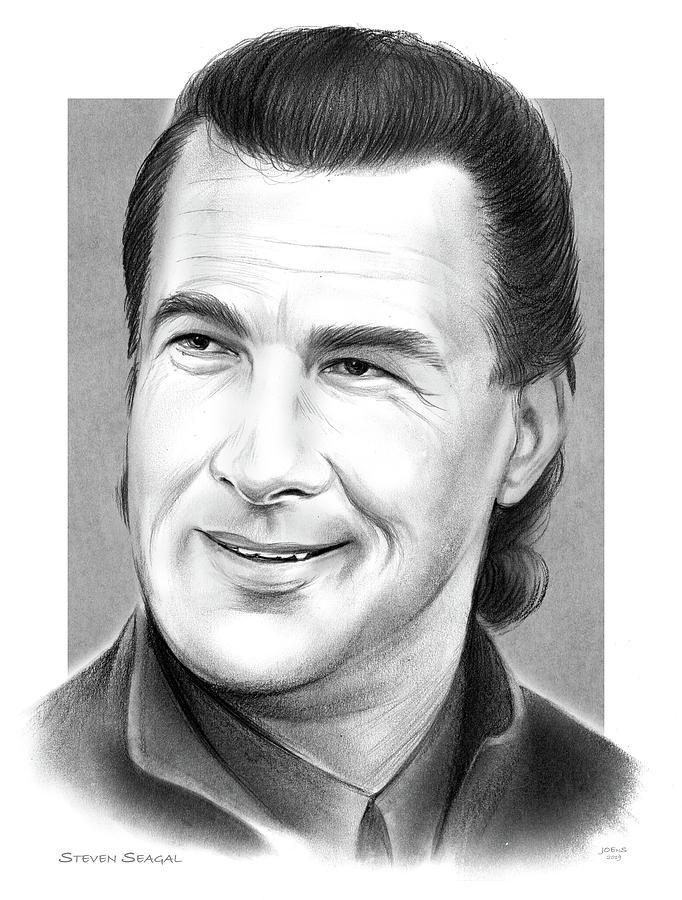 Steven Seagal Drawing