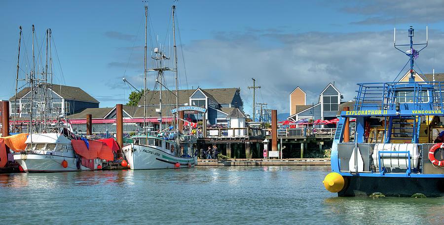 Steveston Waterfront by Doug Matthews