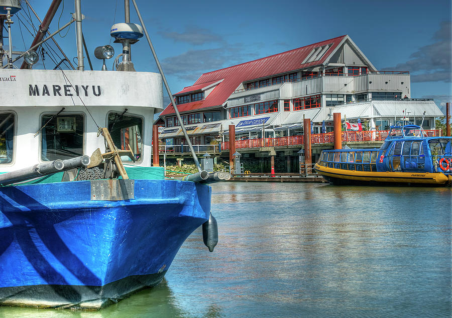 Steveston Waterfront East by Doug Matthews