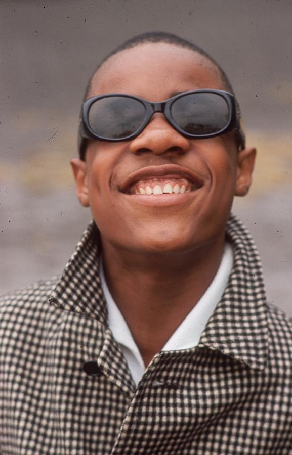 Stevie Wonder Photograph by Hulton Archive