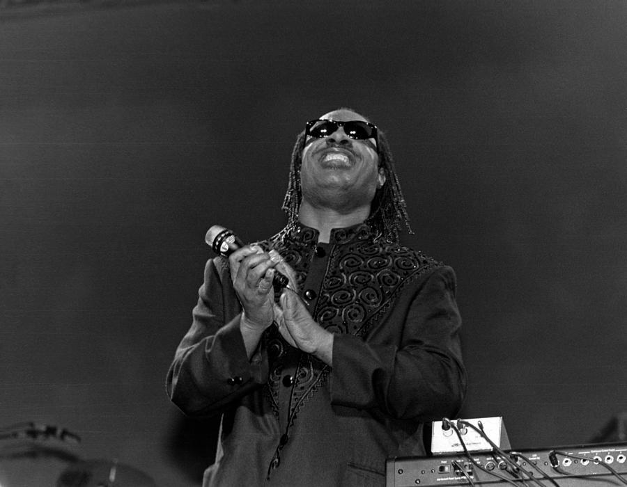 Stevie Wonder Live In Concert Photograph by Raymond Boyd