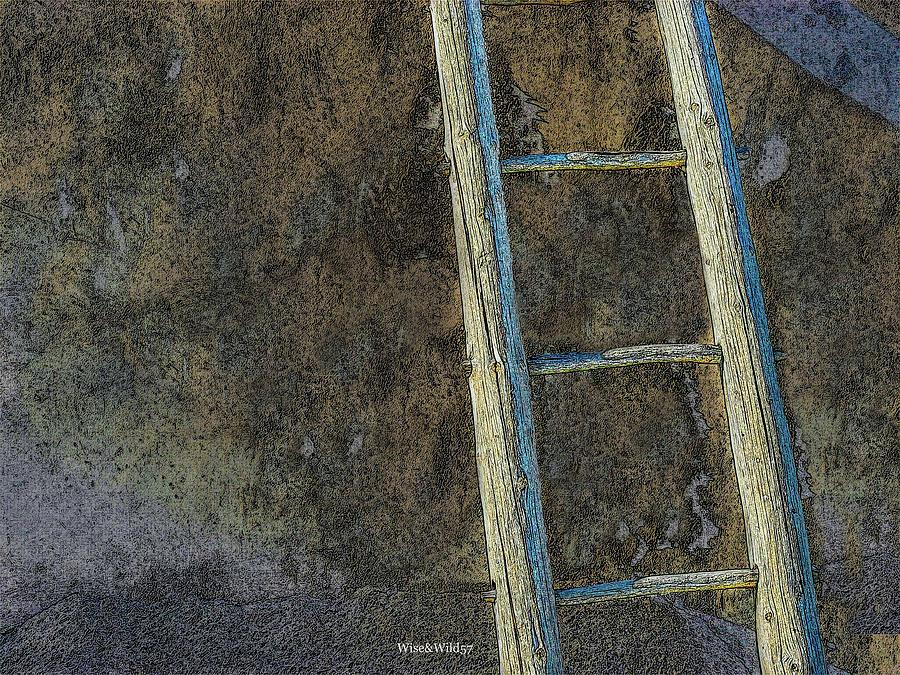 Stick Ladder by WiseWild57