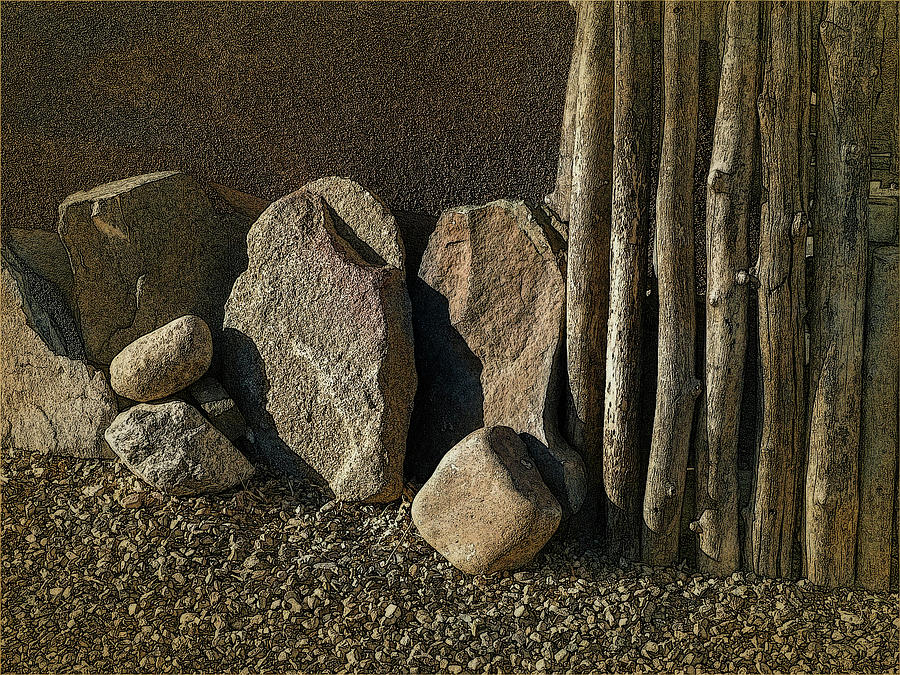 Sticks and Stones by Western Light Graphics