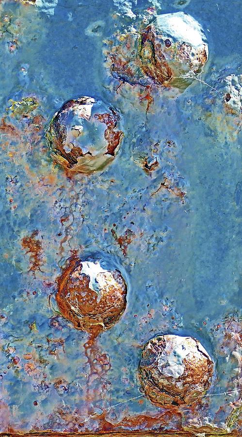 Rust Photograph - Still Holding by Rainer Stark