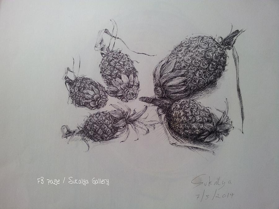 Still Life 3 Drawing