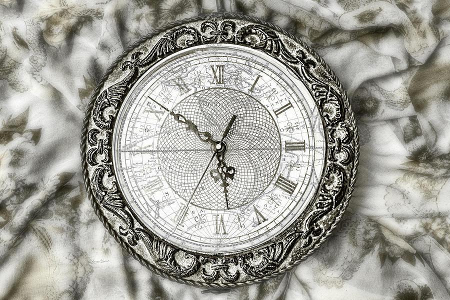 Still Life Clock by Sharon Popek