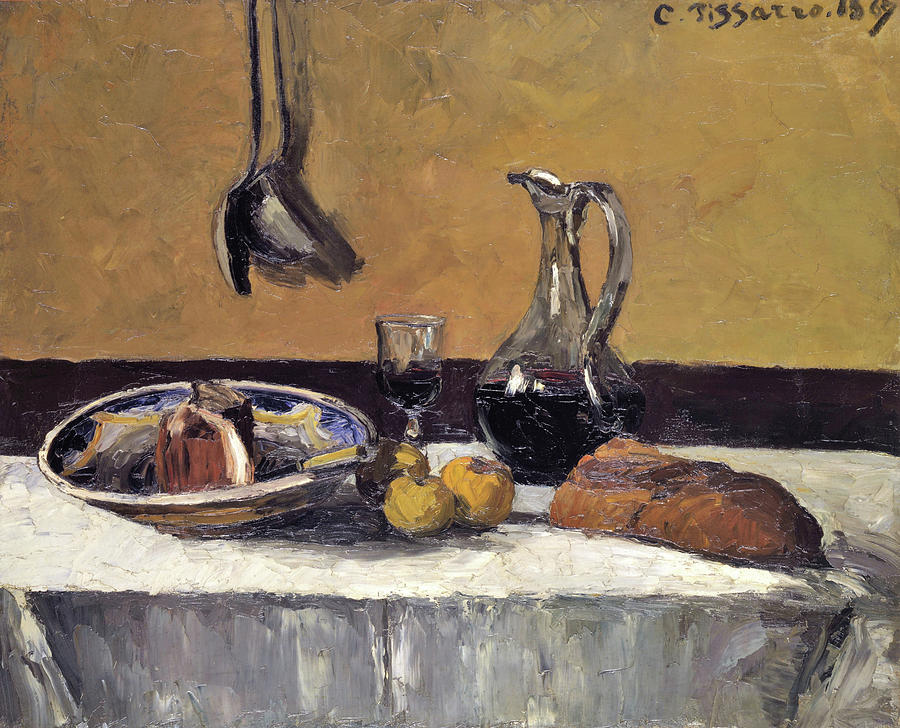Camille Pissarro Painting - Still Life - Digital Remastered Edition by Camille Pissarro