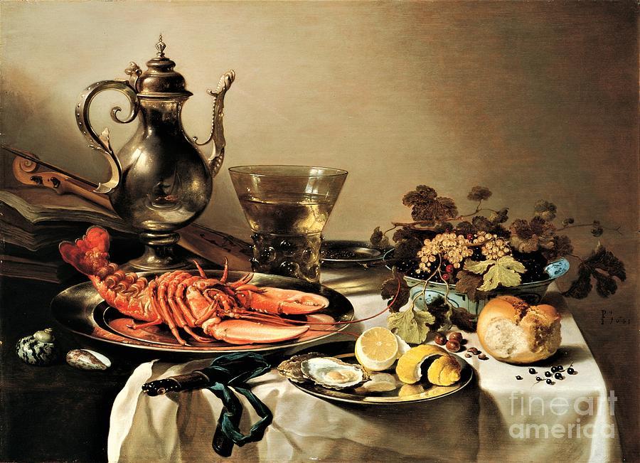 Still Life Sea Food Painting