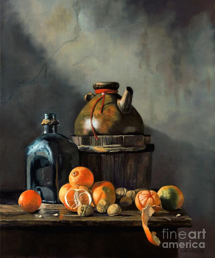 Still Life Study by Jeanne Newton Schoborg