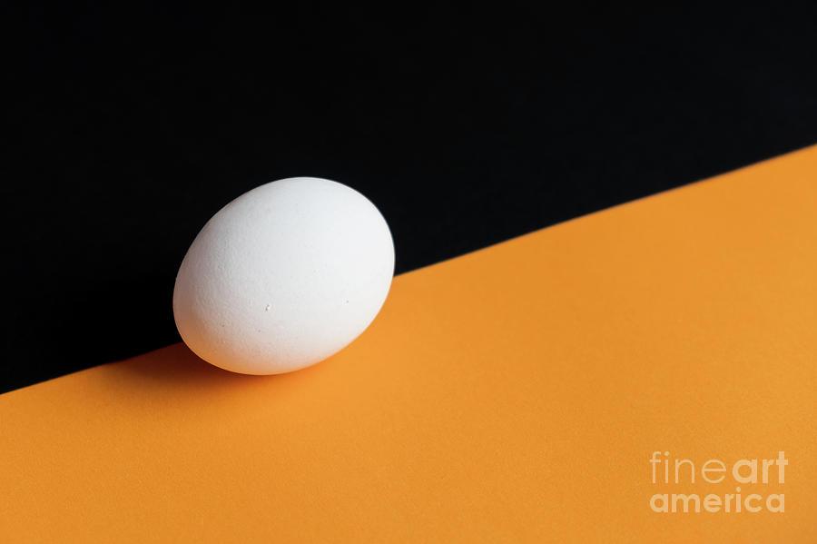 Still life with egg by Marina Usmanskaya