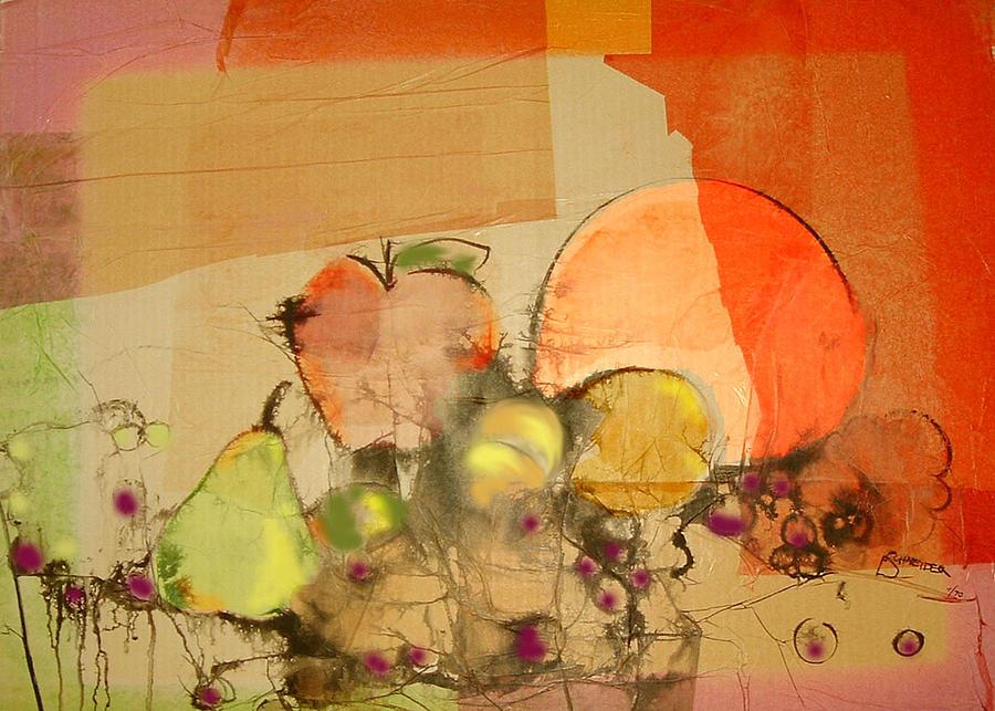 Still Life With Fruit by Edie Schneider