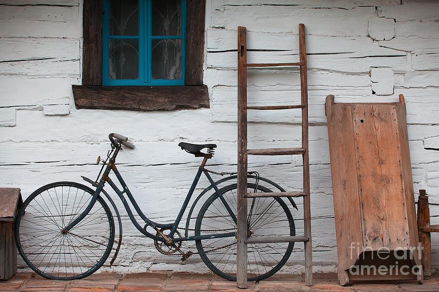 Tub Photograph - Still Life With Old Barn by Radomir Rezny