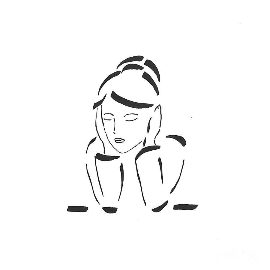 Inspiration Drawing - Still by Petra Heveroch