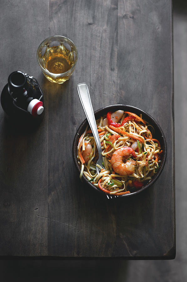 Stir-fry Noodles Photograph by A.y. Photography